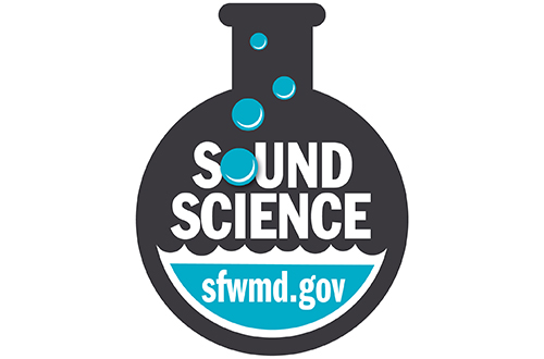 logo for SFWMD's SOUNDSCIENCE podcast