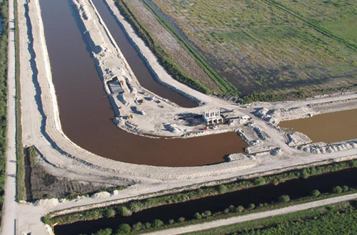 photo of Stormwater Treatment Area 1 West Expansion