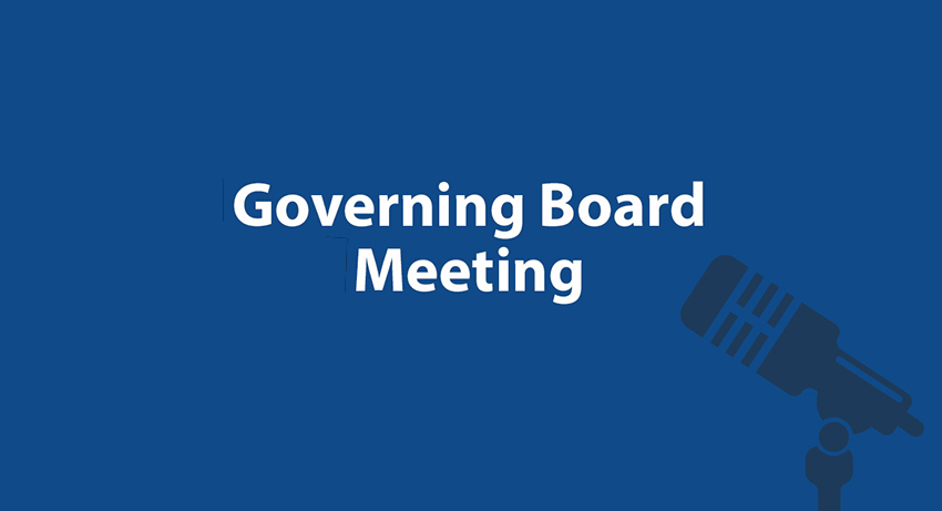 governing board meeting notice
