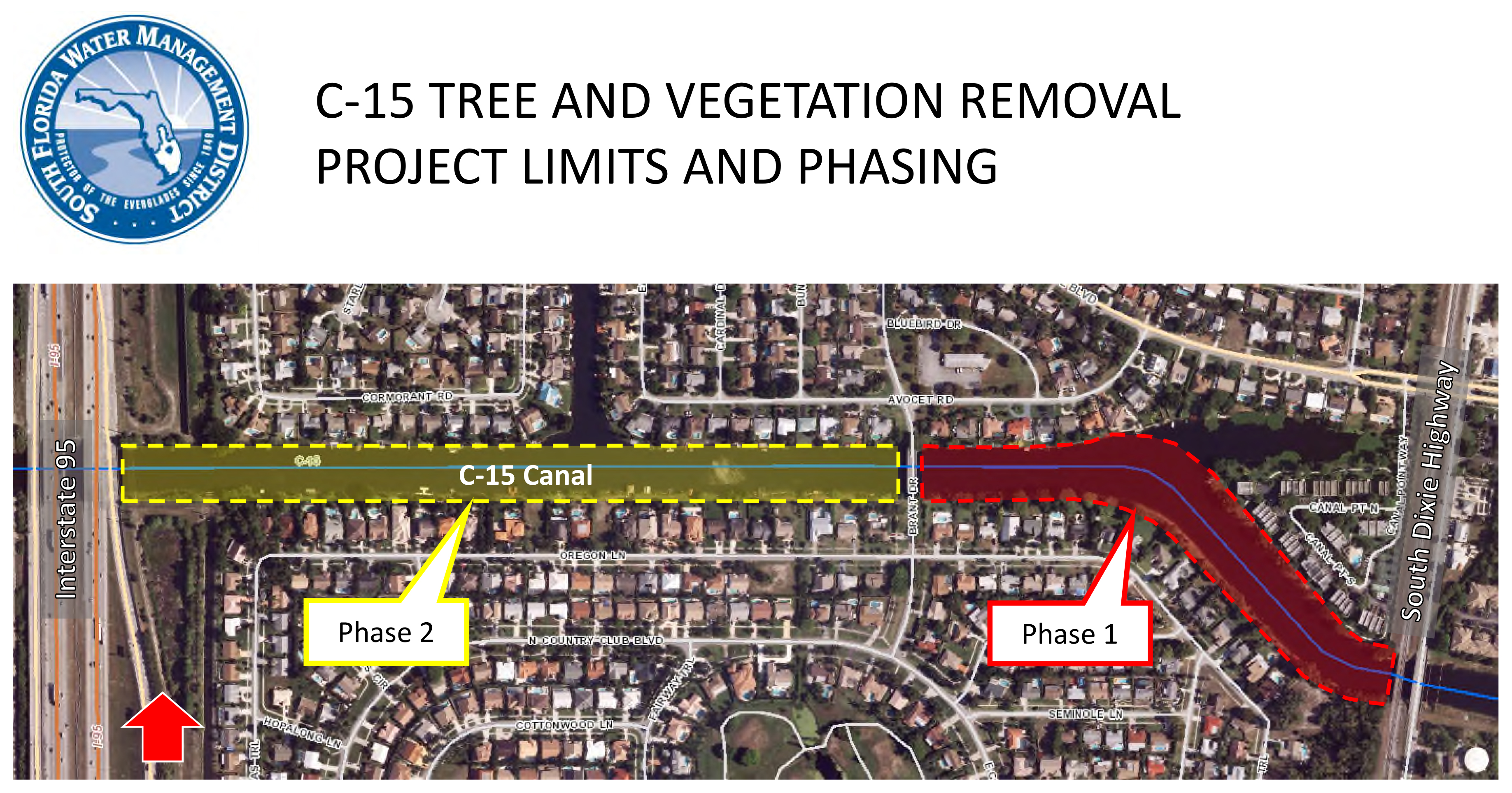 MAP: C-15 Canal and Tree Vegetation Removal Project
