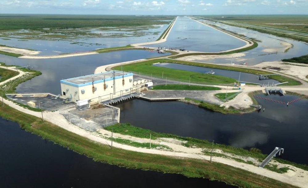 photo of A-1 Flow Equalization Basin
