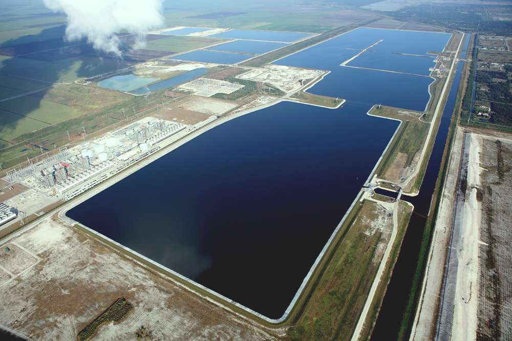 photo of L-8 Flow Equalization Basin