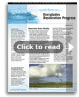 Everglades Restoration Progress fact sheet - Click to read