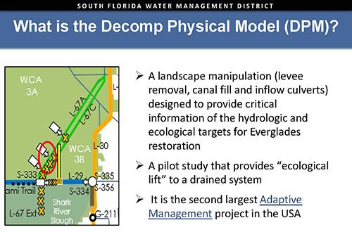 slide from Decomp Physical Model Governing Board presentation