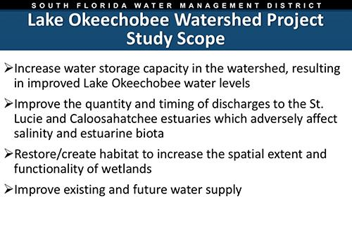 thumbnail for Lake Okeechobee Watershed Project Update Governing Board presentation